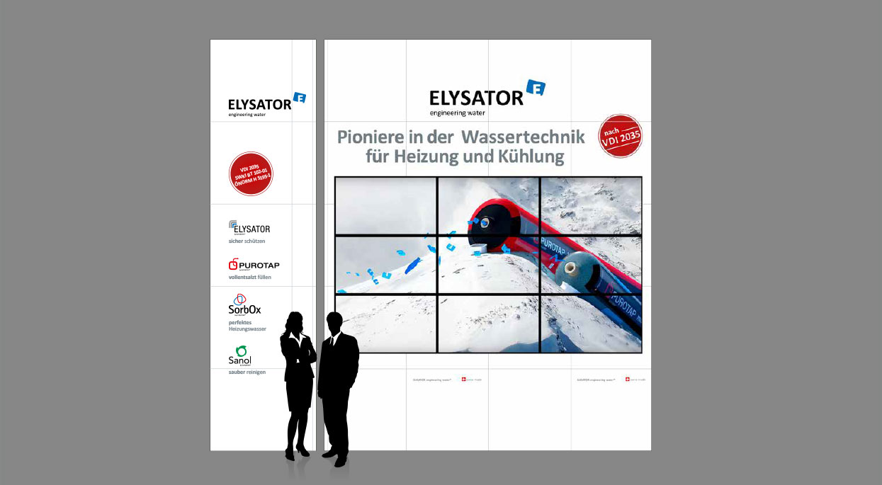 Elysator Messedesign